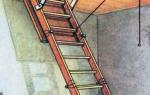 Как самостоятельно изготовить складную лестницу на чердак