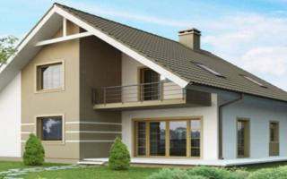 Особенности двухскатной мансардной крыши