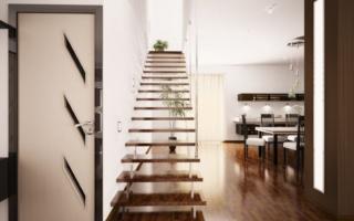 Мансардные лестницы: существующие разновидности и сооружение своими руками