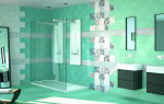 Зеленая ванная комната глоток свежести в вашем доме
