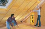 Утепление мансарды изнутри если крыша дома уже покрыта