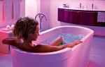 Цветовое решение для яркой ванной комнаты