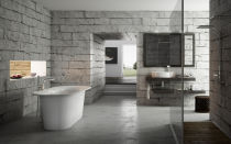 Серая ванная комната дизайн и правильный выбор цветового решения