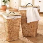 Фото: Оберегайте плетенные корзинки от попадания влаги