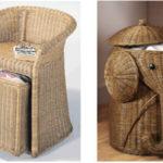 Фото: Необычные корзинки для белья