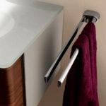 Фото: Стильный полотенцедержатель