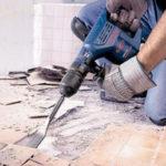 Фото: Демонтаж старого напольного покрытия