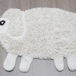 Фото: Коврик в виде овцы