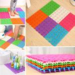 Фото: Сборные коврики можно собрать любой размер коврика