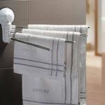 Фото: Вешалка для полотенец с вращающимся механизмом