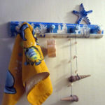Фото: Крючки для полотенец в морском стиле