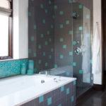 Фото: Дизайн серой ванной комнаты