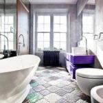 Фото: Красивая серая ванная комната