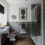 Фото: Уютная серая ванная комната