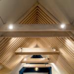 освещение на мансарде под потолком