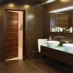 Красивая ванная комната на мансарде